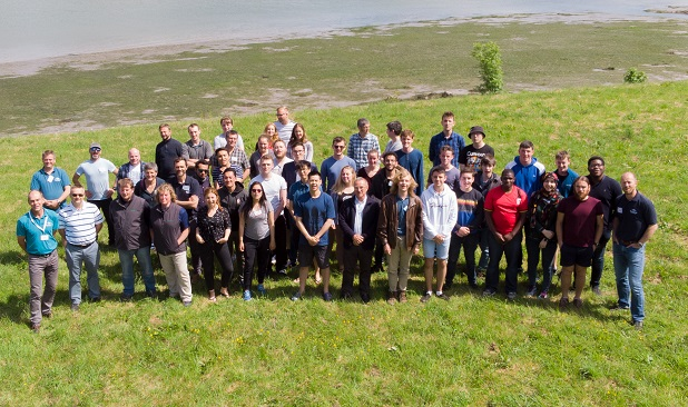 Group shot: Bombora Wave Power Challenge Weekend
