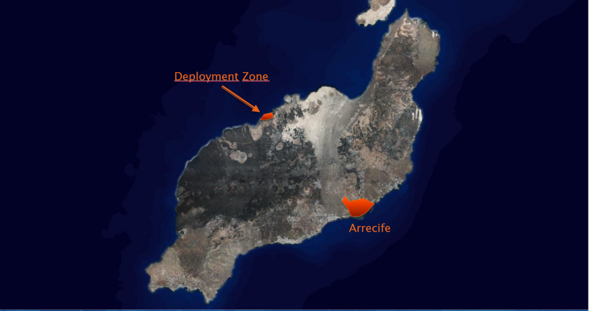 Lanzarote location
