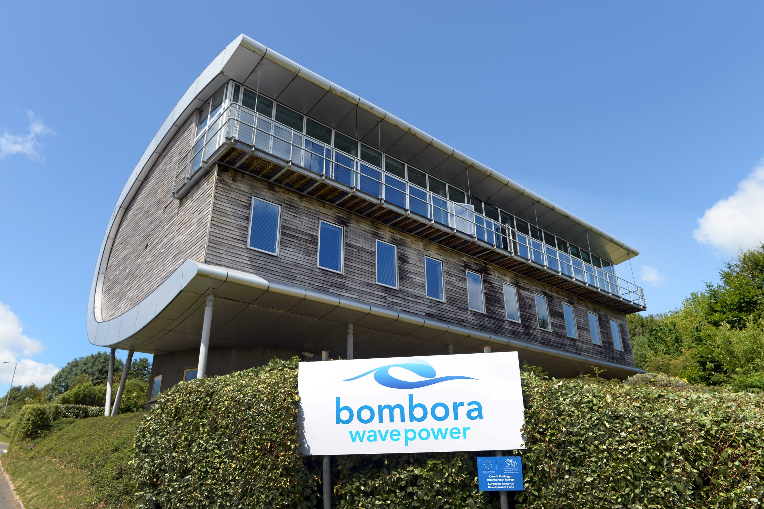Bombora's Head Office in Pembroke Dock
